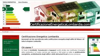 Certificazione Energetica Lombardia - small