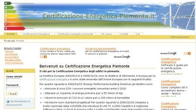 Certificazione Energetica Piemonte - small